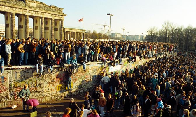 ¿Qué significó la caída del muro de Berlín?