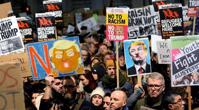 El mundo contra Trump