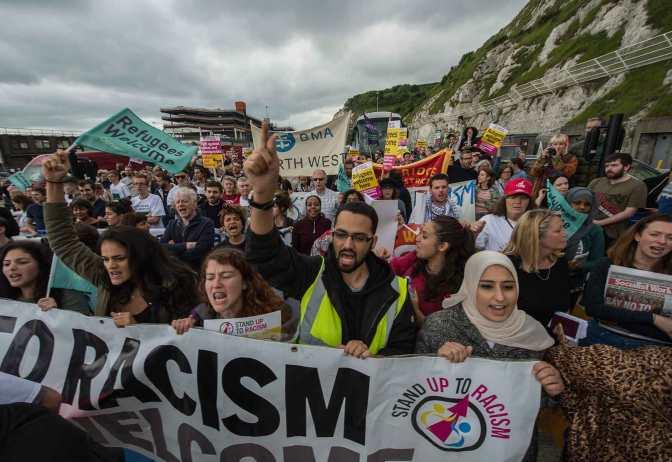 Tras el atentado de Westminster, unidad contra el racismo