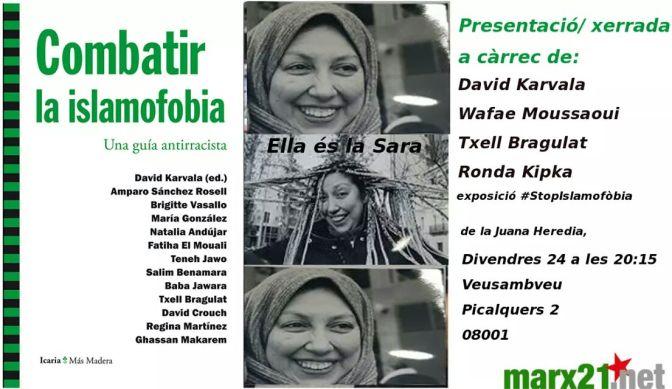 """Presentació de """"Combatir la islamofobia"""""""