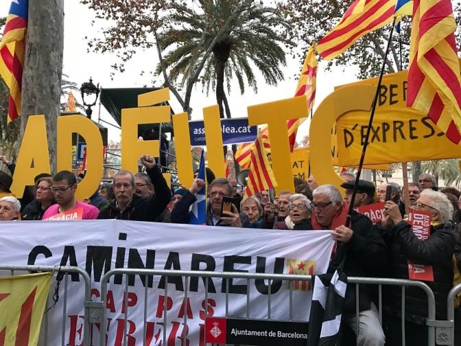 La lucha por el derecho democrático a decidir en Catalunya