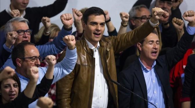 ¿Gira el PSOE a la izquierda con Pedro Sánchez?