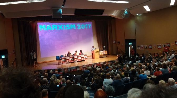 Marxism /1 – Jornadas anticapitalistas en Londres