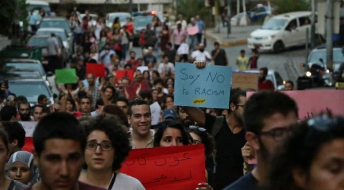 Acoso y represión contra activistas socialistas en el Líbano