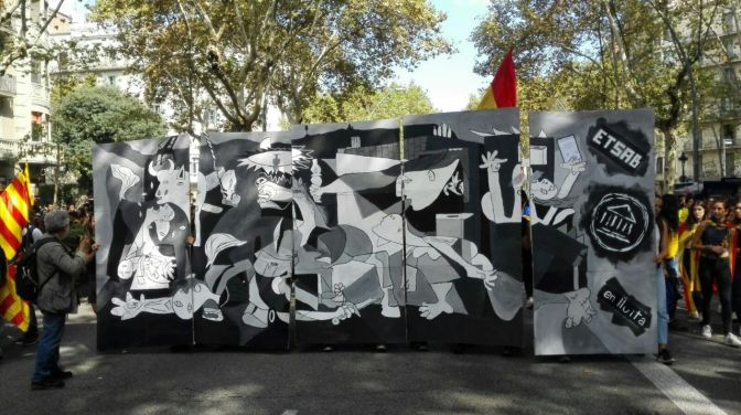Homenaje a Catalunya, desde Burgos