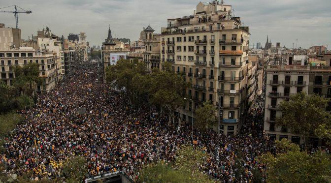 Catalunya: la visión solidaria de una anticapitalista irlandesa