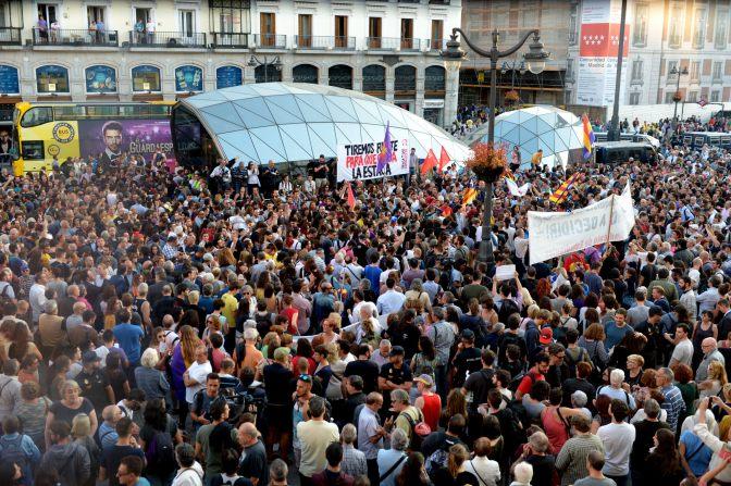 República catalana: No lluitem contra la gent d'Espanya