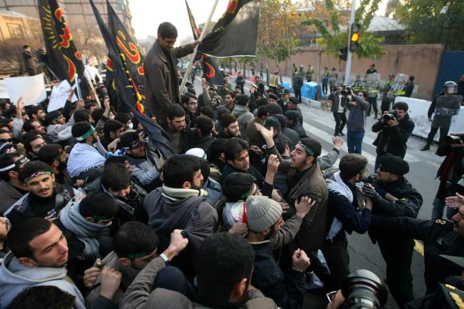 Rebelión en Irán