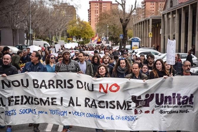 Nou Barris contra el fascismo y el racismo