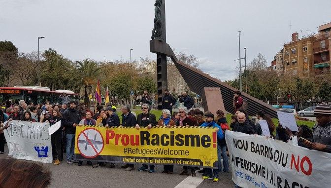 Nou Barris contra el feixisme i el racisme