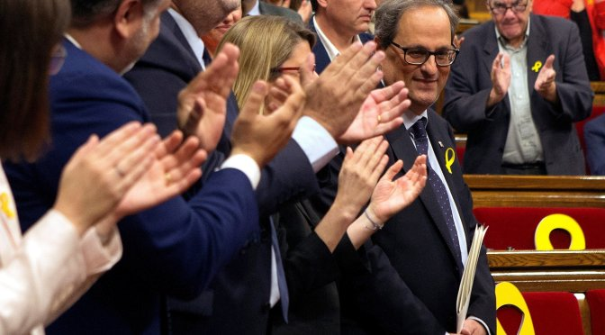 The new Catalan president: An investiture that should not have been