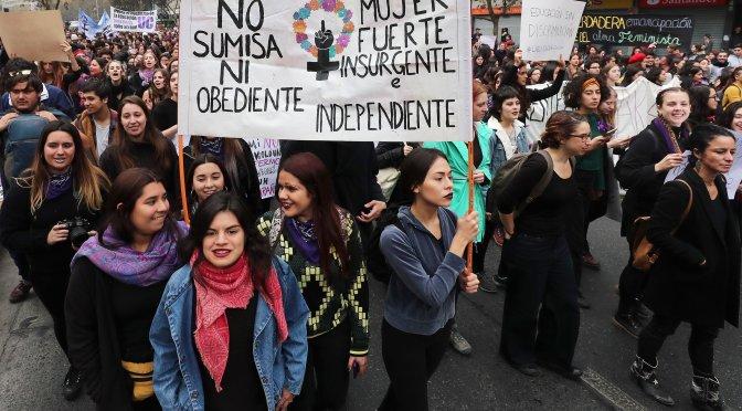 """¡Que todo Chile se vuelva feminista!"""