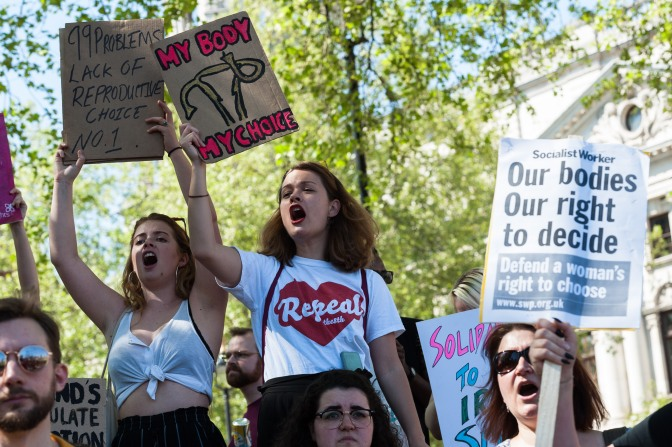 People power removes blanket ban on abortion in Ireland