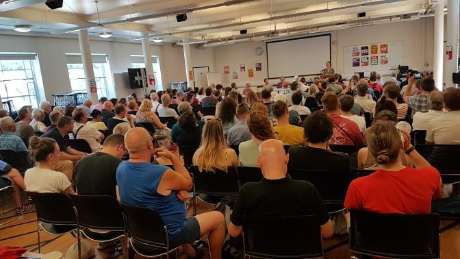 """Festival #Marxism2018 a Londres: """"l'aprenentatge i suport de classe internacional"""""""