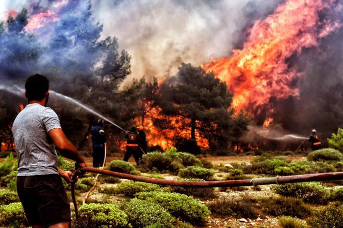 Incendios forestales en Grecia: el coste de la austeridad