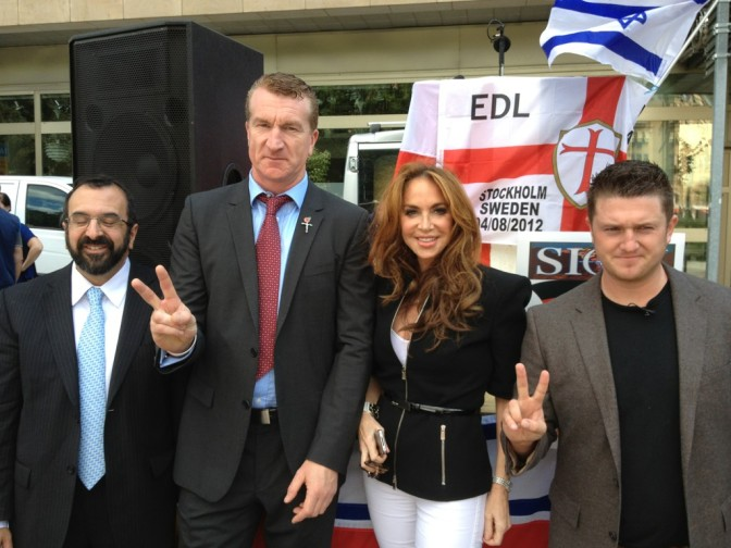 Los racistas estadounidenses financian a Tommy Robinson
