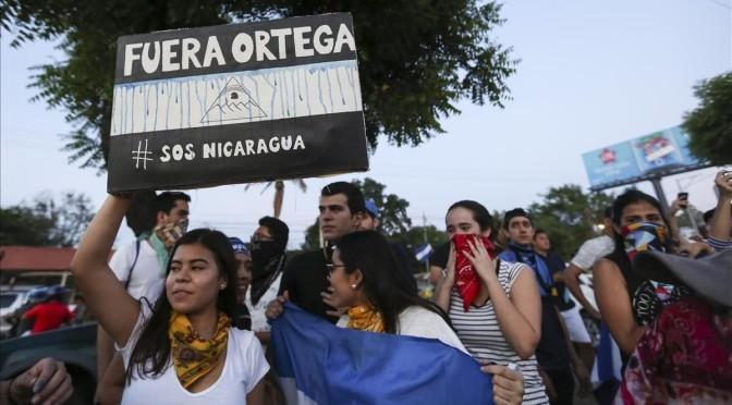 Apuntes sobre #SOSNicaragua