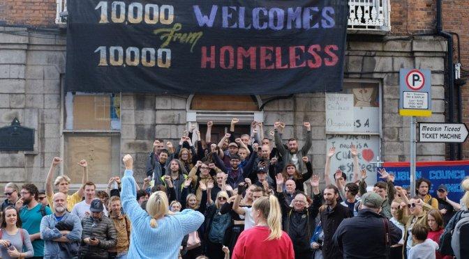 Irlanda se moviliza por el derecho a la vivienda