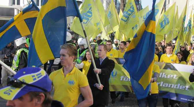 El racismo está en la raíz del avance de la extrema derecha sueca