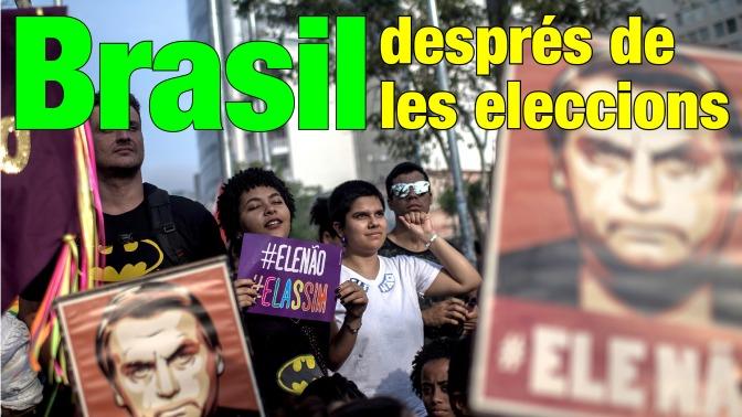 Xerrada: Brasil després de les eleccions. #EleNão