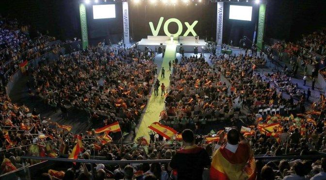 """Vox: """"las alarmas se han encendido, y con razón"""""""