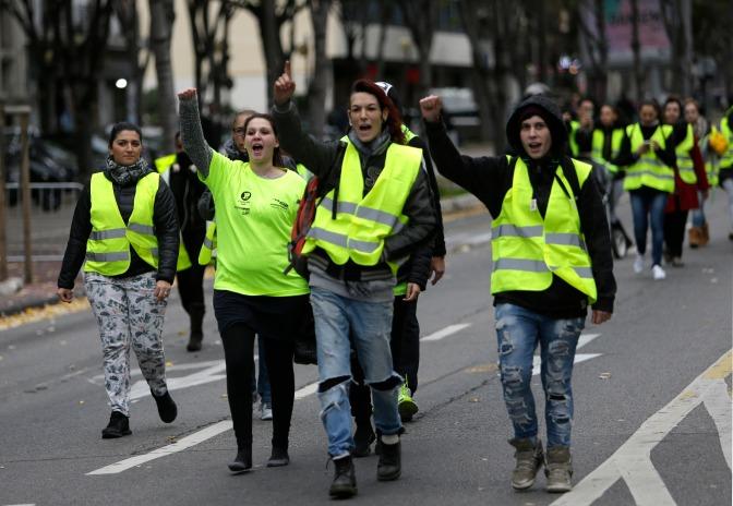 Los chalecos amarillos: ¿una lucha de clases?