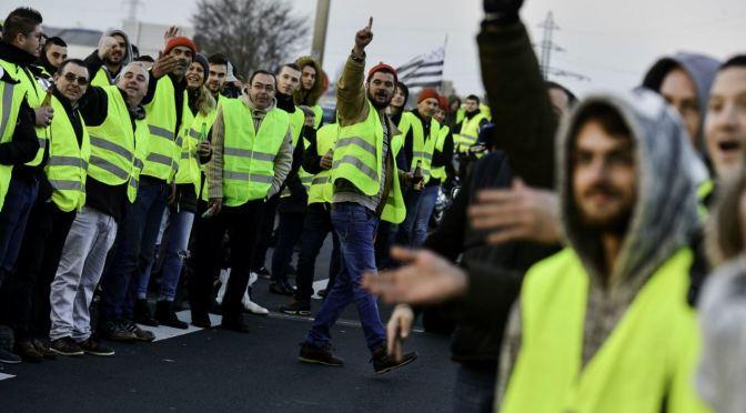 Les armilles grogues, una lluita de classes?