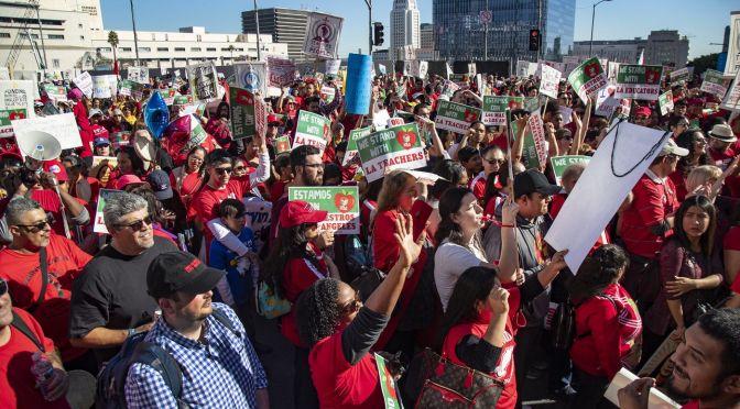 Los Angeles: 30.000 profesores convocados a la huelga el próximo lunes