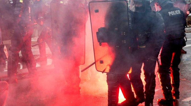 Amenaça sobre el dret de manifestació