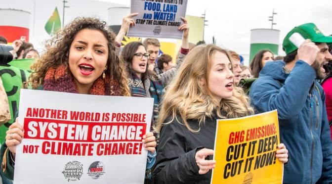 Rebelión contra el colapso climático