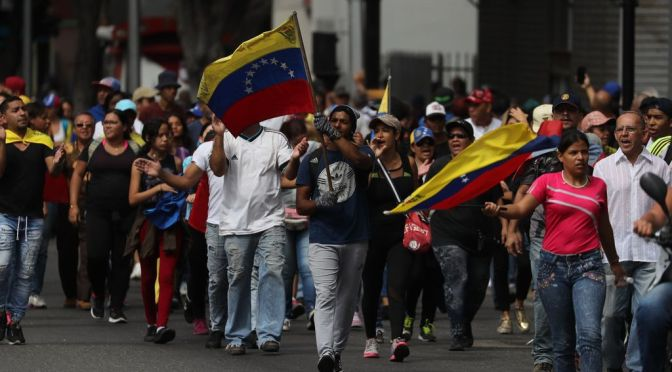 Venezuela: Contra la dreta colpista