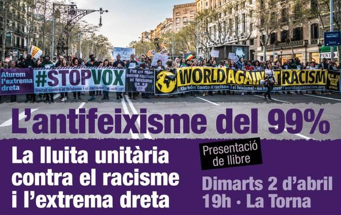 Presentació de llibre: L'antifeixisme del 99%