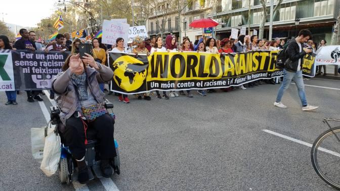 Un món contra el racisme i el feixisme: #WorldAgainstRacism