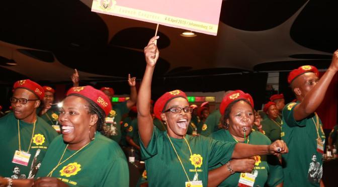 """Sudáfrica: nacimiento del #SRWP, un partido """"que defiende la revolución"""""""