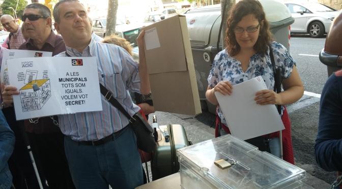 ¿Las personas ciegas podemos votar de manera autónoma y secreta?