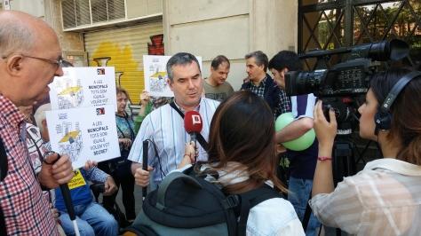 Protesta d'ACIC, 24 de maig de 2015