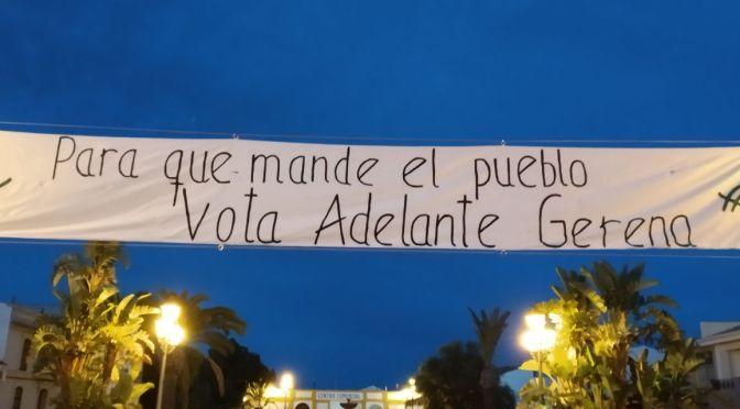 """Gerena (Sevilla): """"sumar más gente al activismo político"""""""