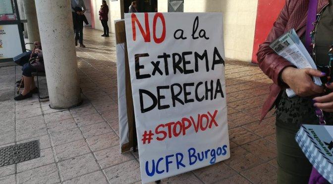 La lucha en Burgos contra la extrema derecha