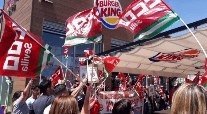 Burger King: Una batalla conseguida en el reino de la precariedad