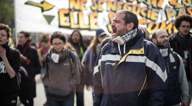 Represión sindical en Francia: ¡libertad Gaël Quirante!