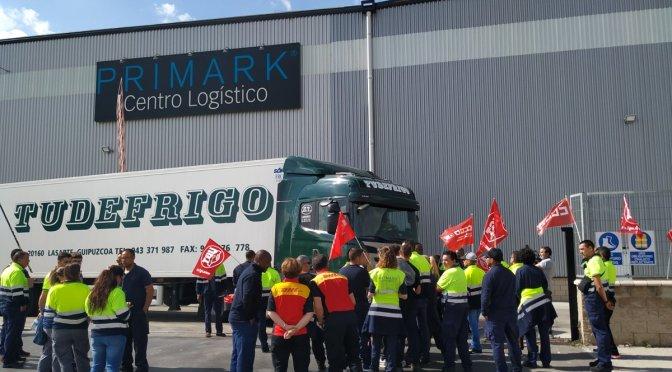 Huelga indefinida en el almacén de Primark en Guadalajara