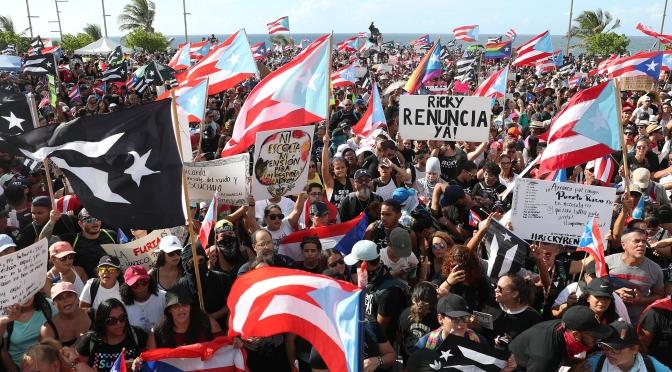 Puerto Rico se rebela contra la corrupción y la austeridad