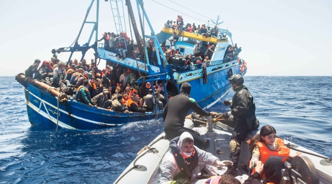 Crisis in the Mediterranean: Open the borders