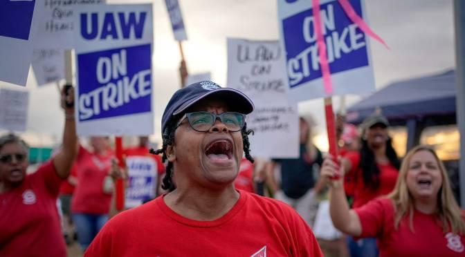 Huelga en General Motors, EEUU