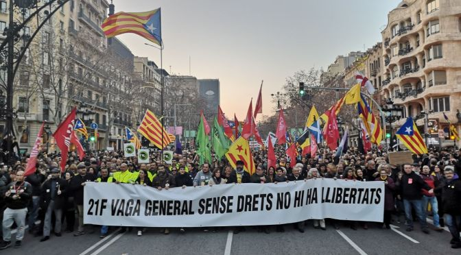 De l'alliberament nacional a la lluita de classes