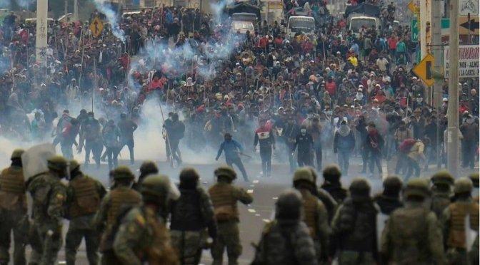 La lucha contra El Paquetazo en Ecuador