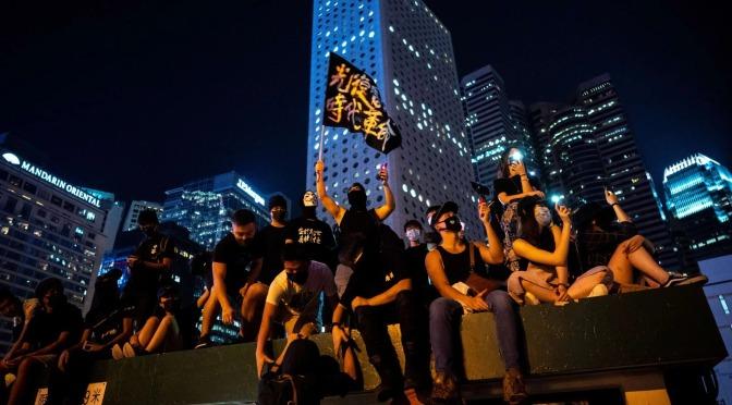 Hong Kong: les tàctiques estan en debat
