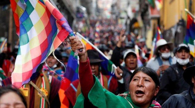 Bolivia: contra el golpe, por la resistencia unitaria desde abajo