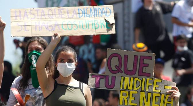 El estallido chileno
