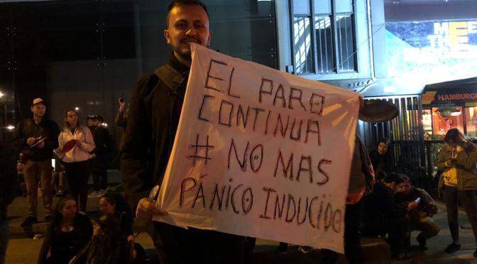 Multitudinarias movilizaciones en Colombia en la jornada de Paro Nacional